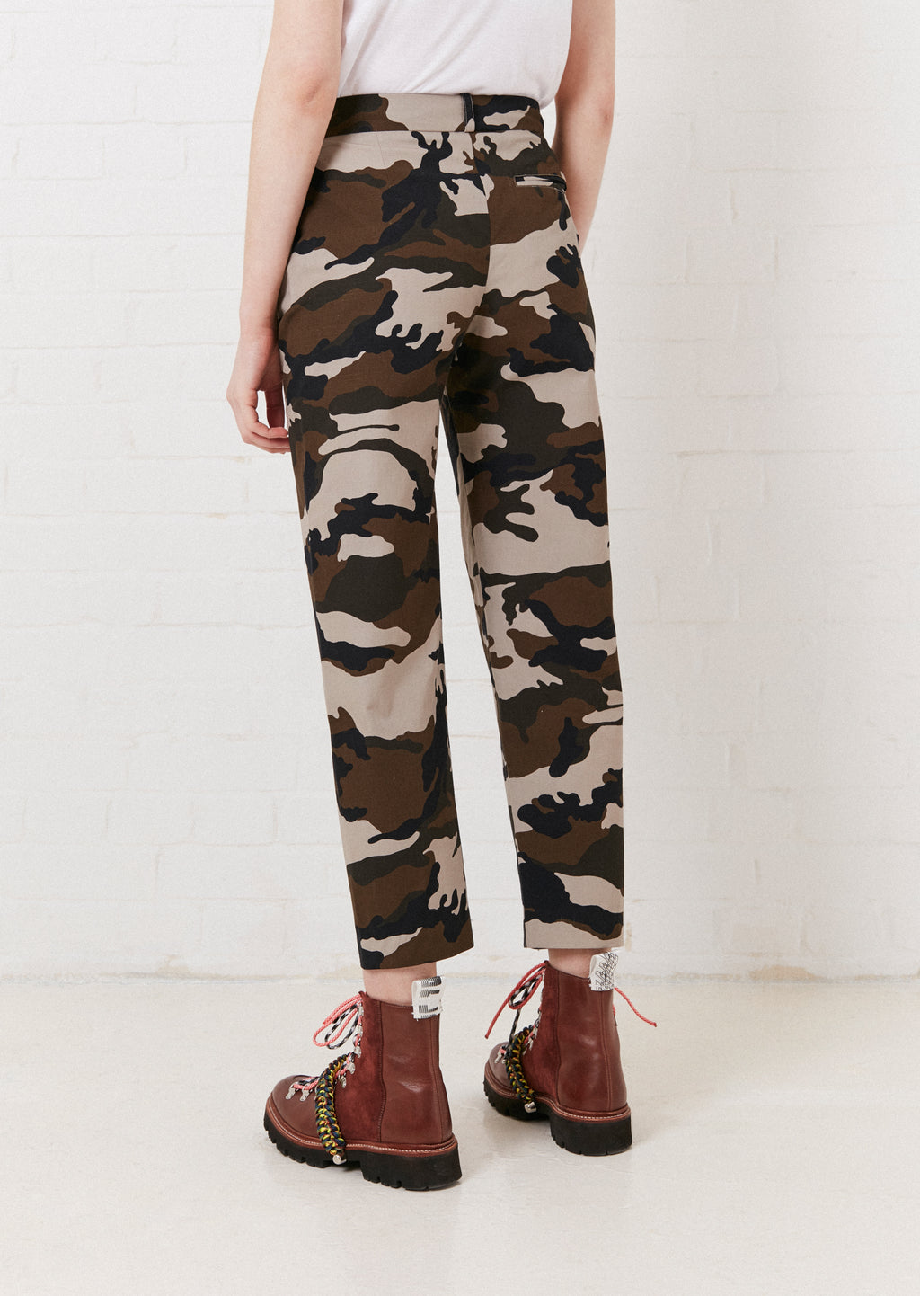 Camouflage Tailored Trouser By House of Holland