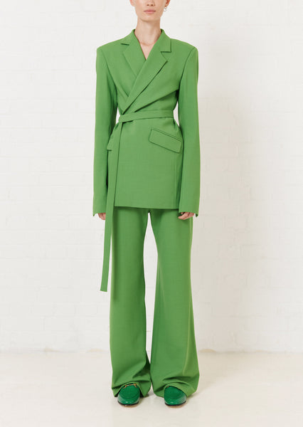 Green Wide Leg Trouser