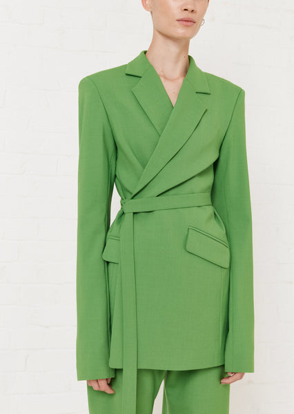 Grüne Tailored Suit Jacke