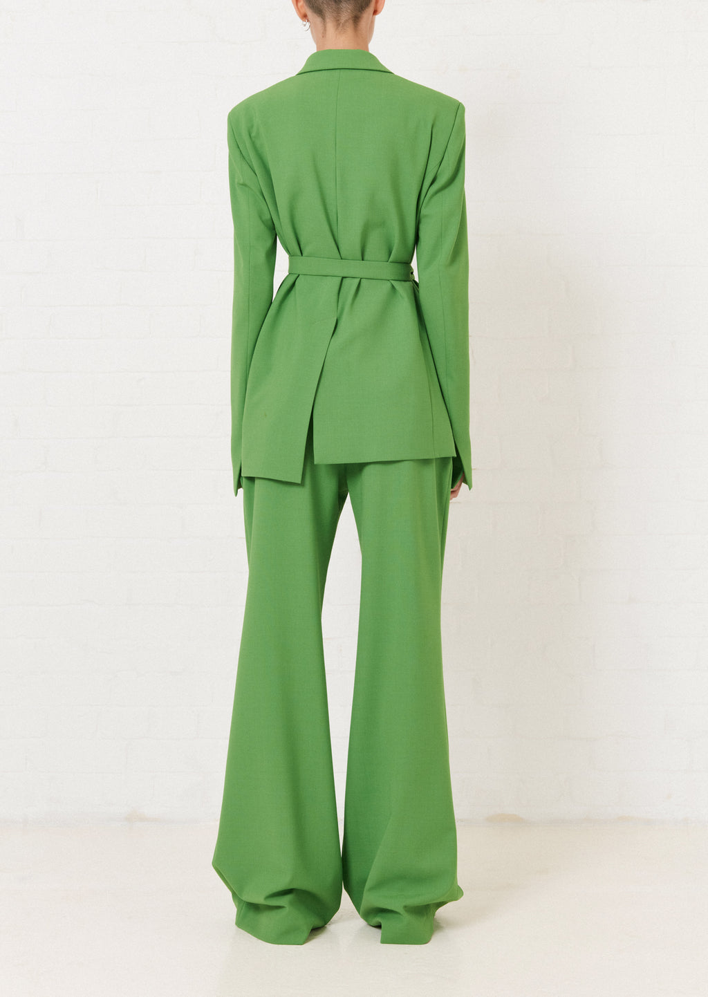 Green Tailored Suit Jacket