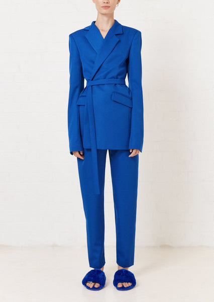 Blaue Tailored Hose