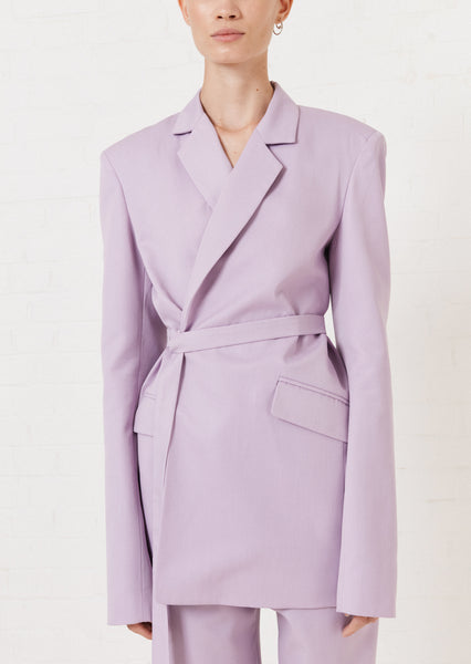 Lilac Tailored Suit Jacket
