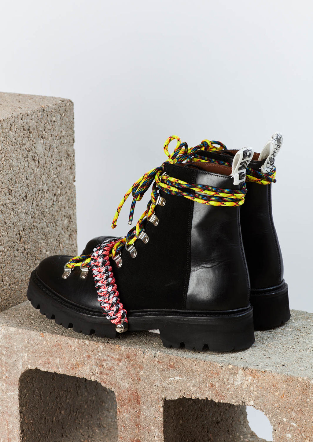 House of Holland x Grenson Hiking Boot (Black) by House of Holla