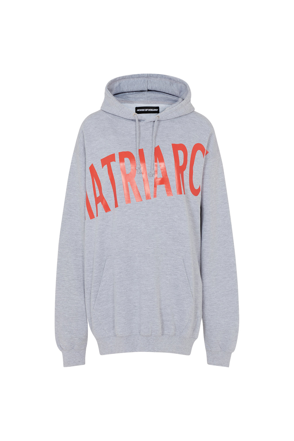 House of Holland x Moon Club 'Matriarch' Grey Hoodie by House of Holland
