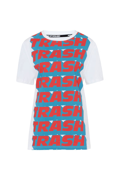 House of Holland x Andrew Brischler 'Trash' Print T-shirt