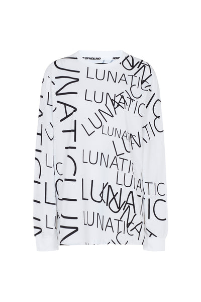 House of Holland x Moon Club 'Lunatic' Long Sleeve Top