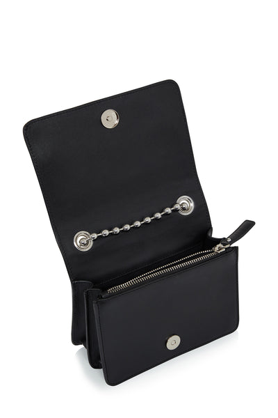 'Margot' Cross Body Bag (Black)