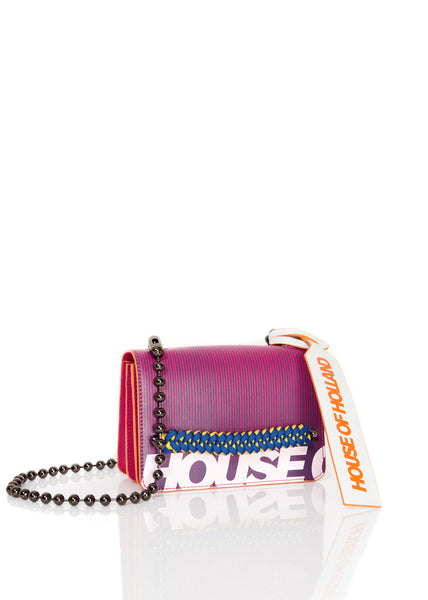 Bright Print Cross Body Bag