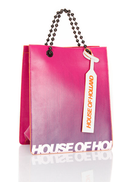 Bright Print Mini Tote Bag
