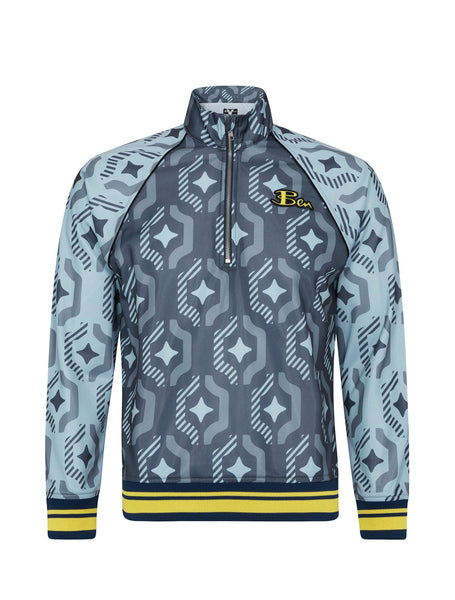 House of Holland X Ben Sherman Geo Wallpaper Print Track Top