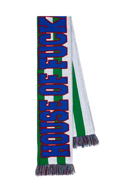Green Striped 'House of F***ing Holland' Scarf
