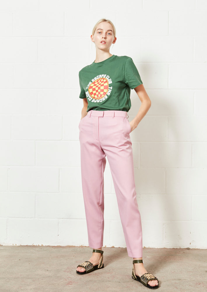 Pink Tailored Trouser