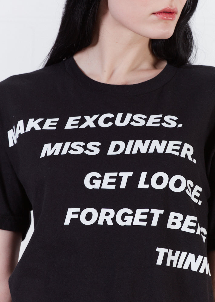 House of Holland x Max Wallis Excuses Tee