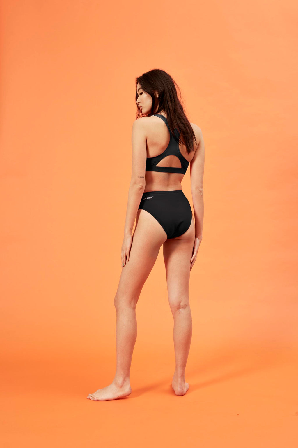 HoH x Speedo Black and White 'HOH' Swim Set