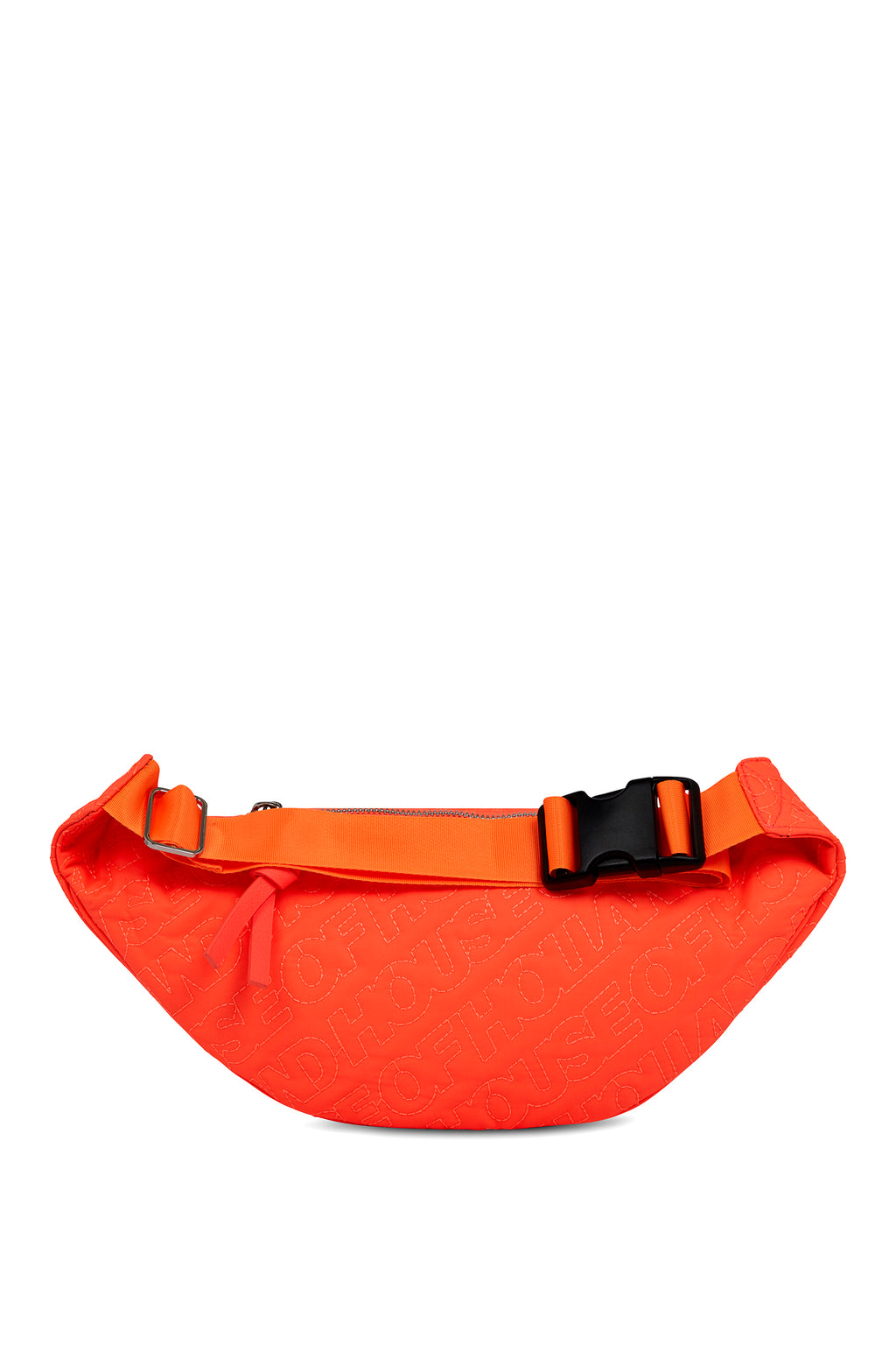 'HOH' Neon Orange Embroidered Belt Bag