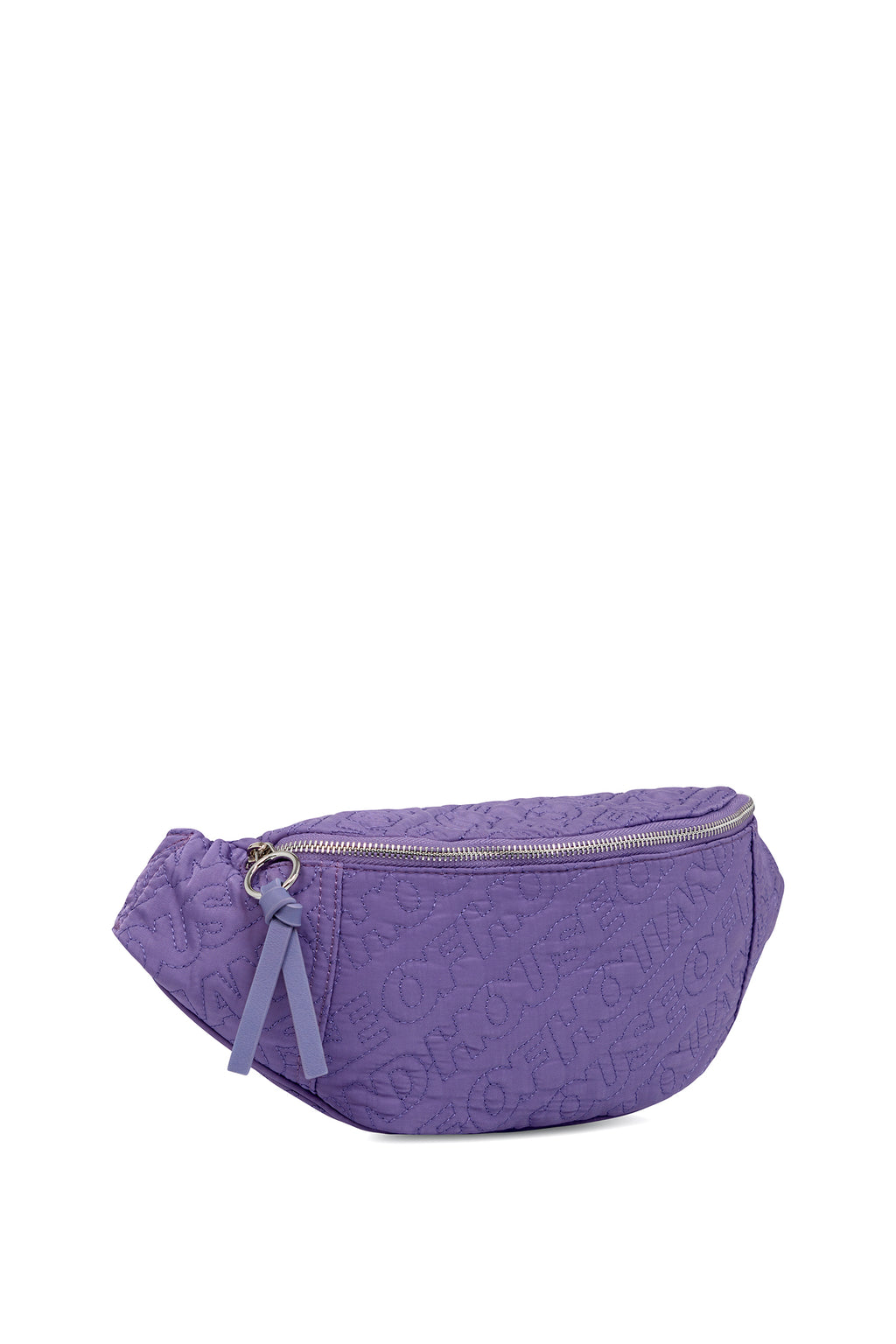 'HOH' Purple Embroidered Belt Bag