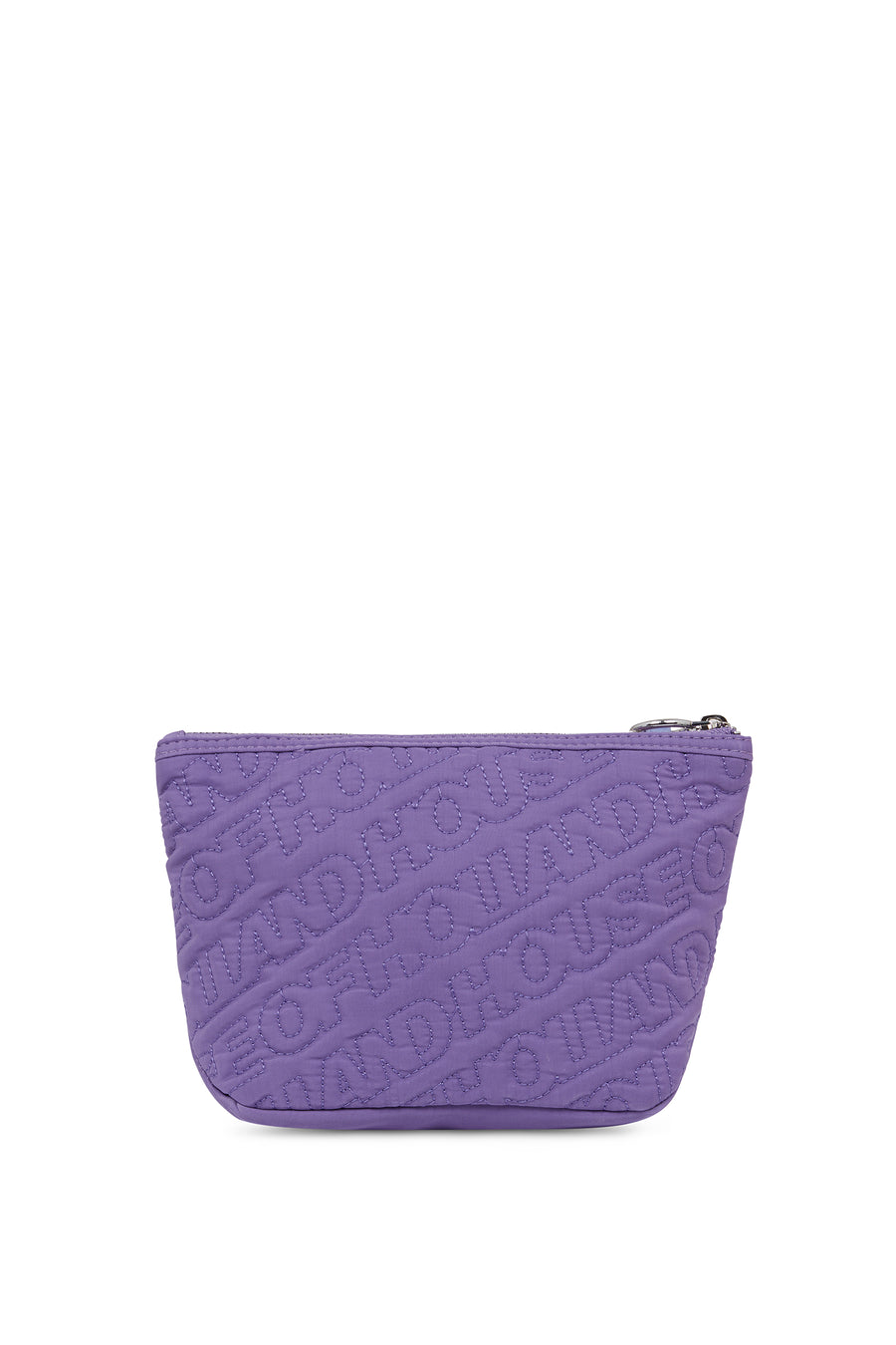 'HOH' Purple Embroidered Grab Bag