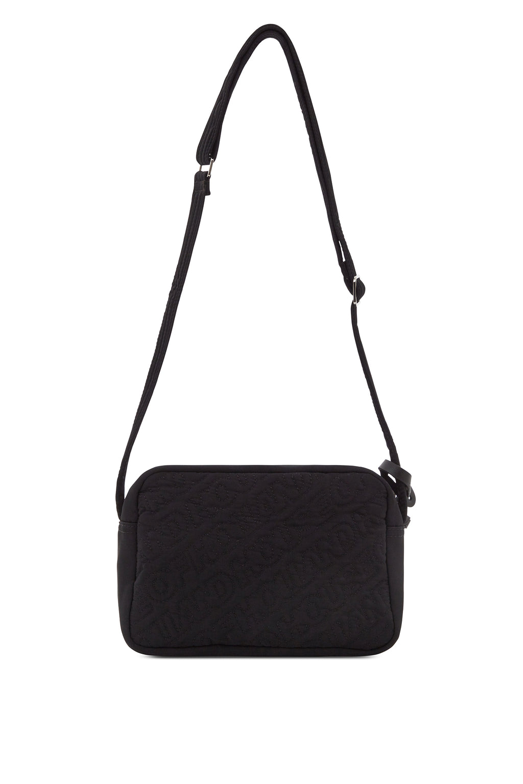'HOH' Black Embroidered Cross Body