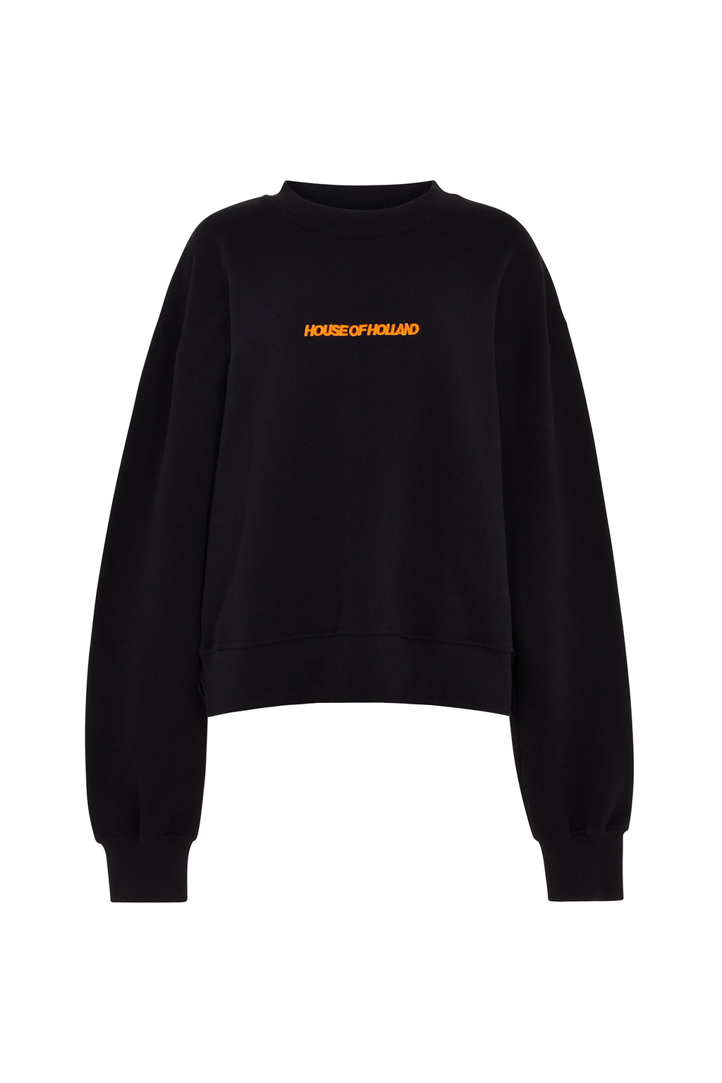 House of Holland Schwarzes Sweatshirt
