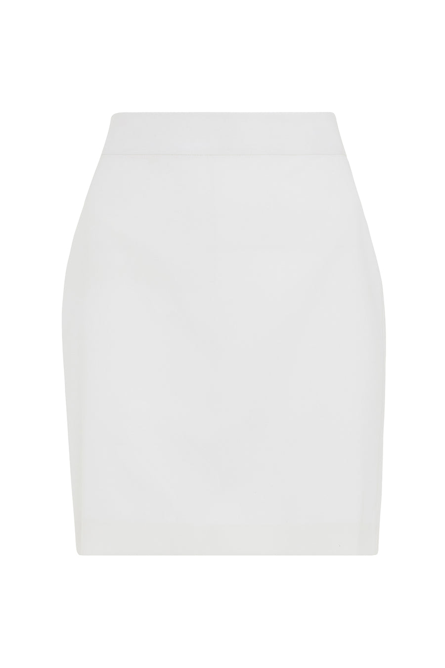 White Suit Mini Skirt