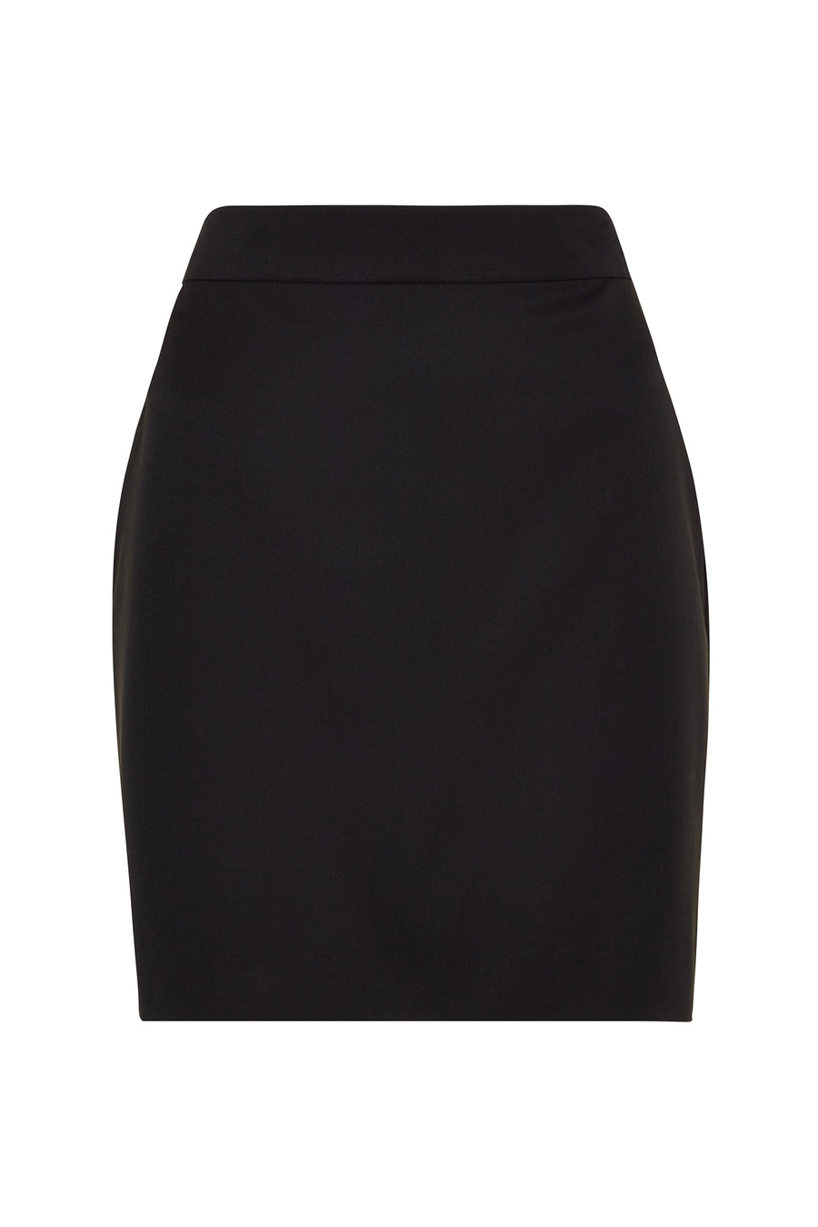 Black Suit Mini Skirt