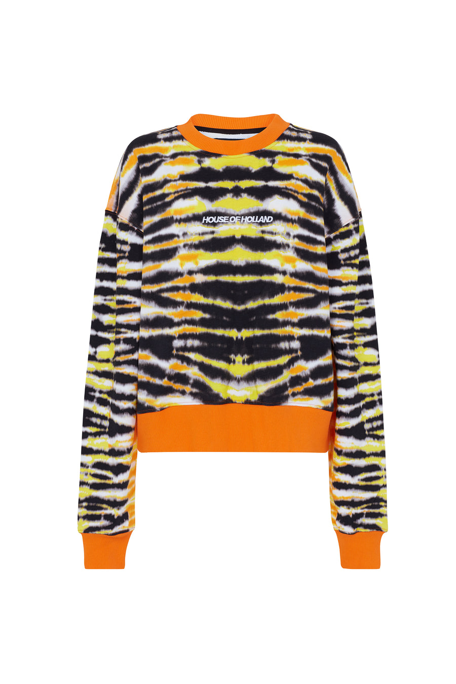 Animal Tie Dye Sweatshirt