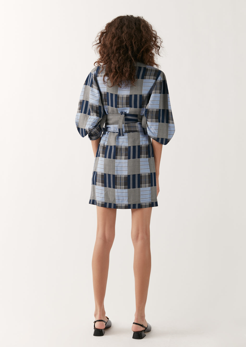 Patchwork Safari Mini Robe