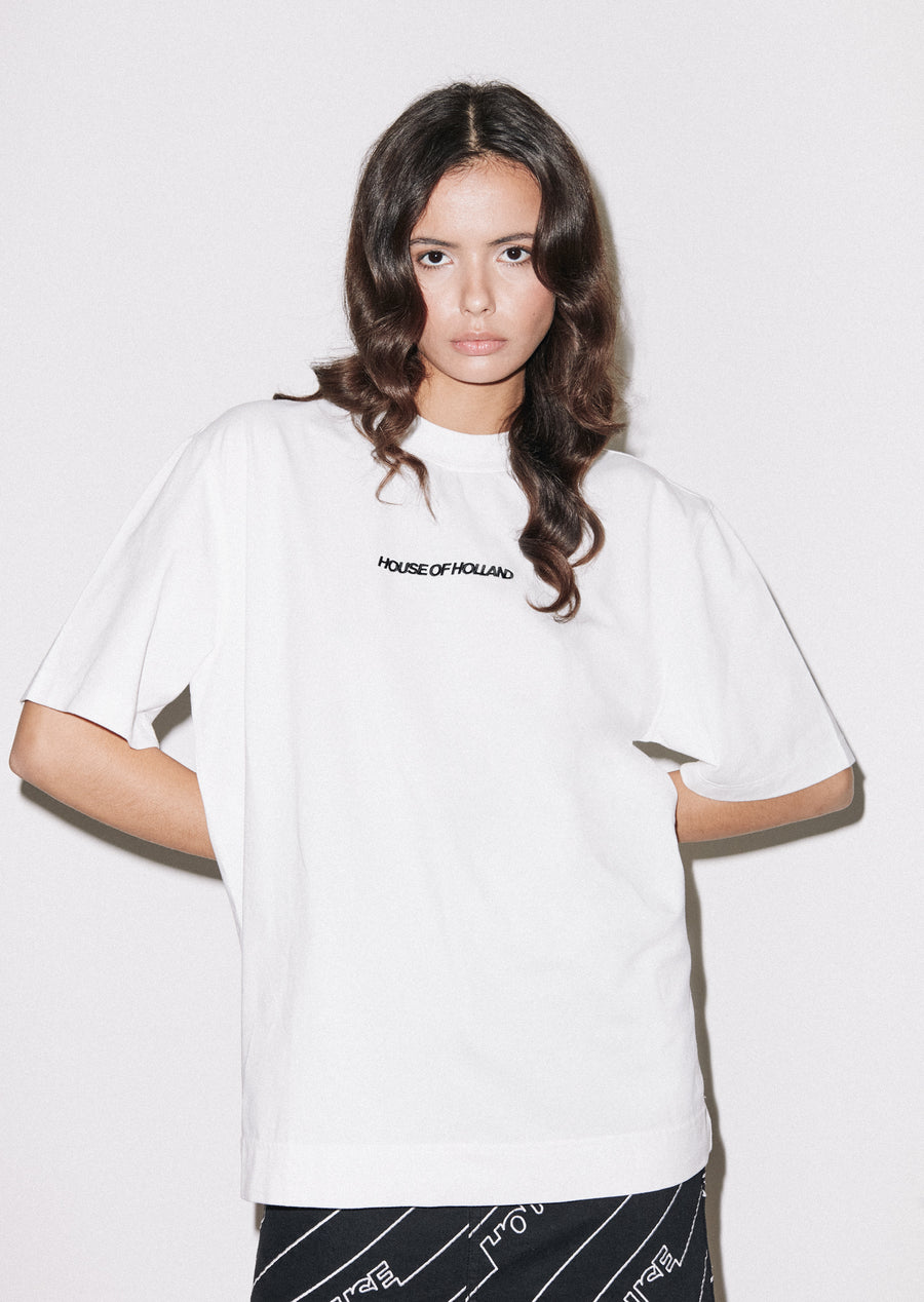 White Logo T- Shirt
