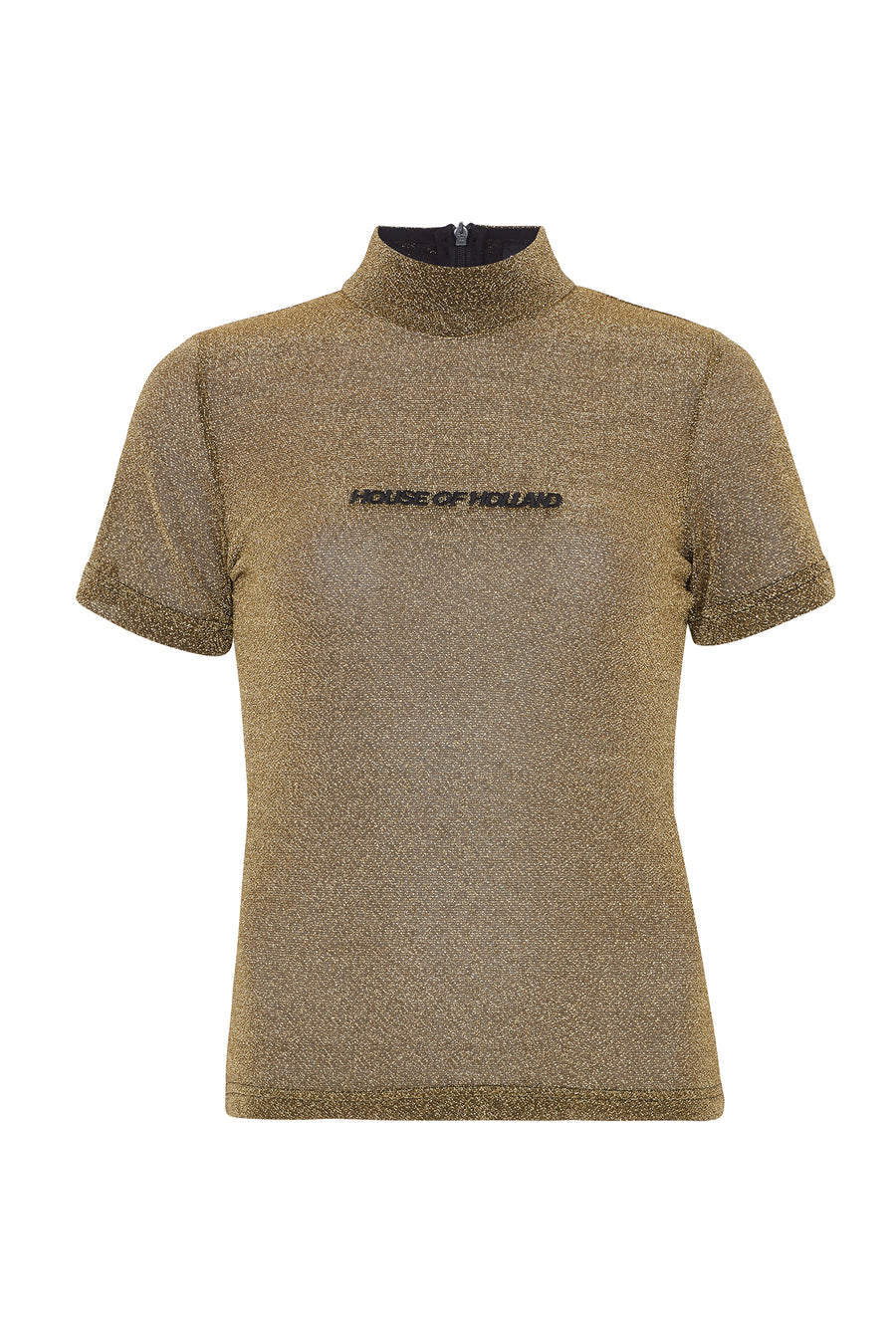Gold Lurex Tee