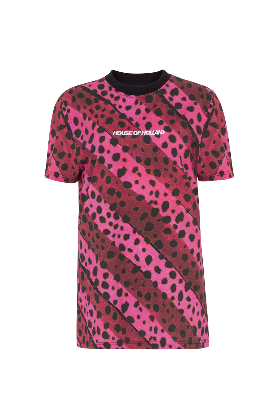 Stripe Cheetah Tee
