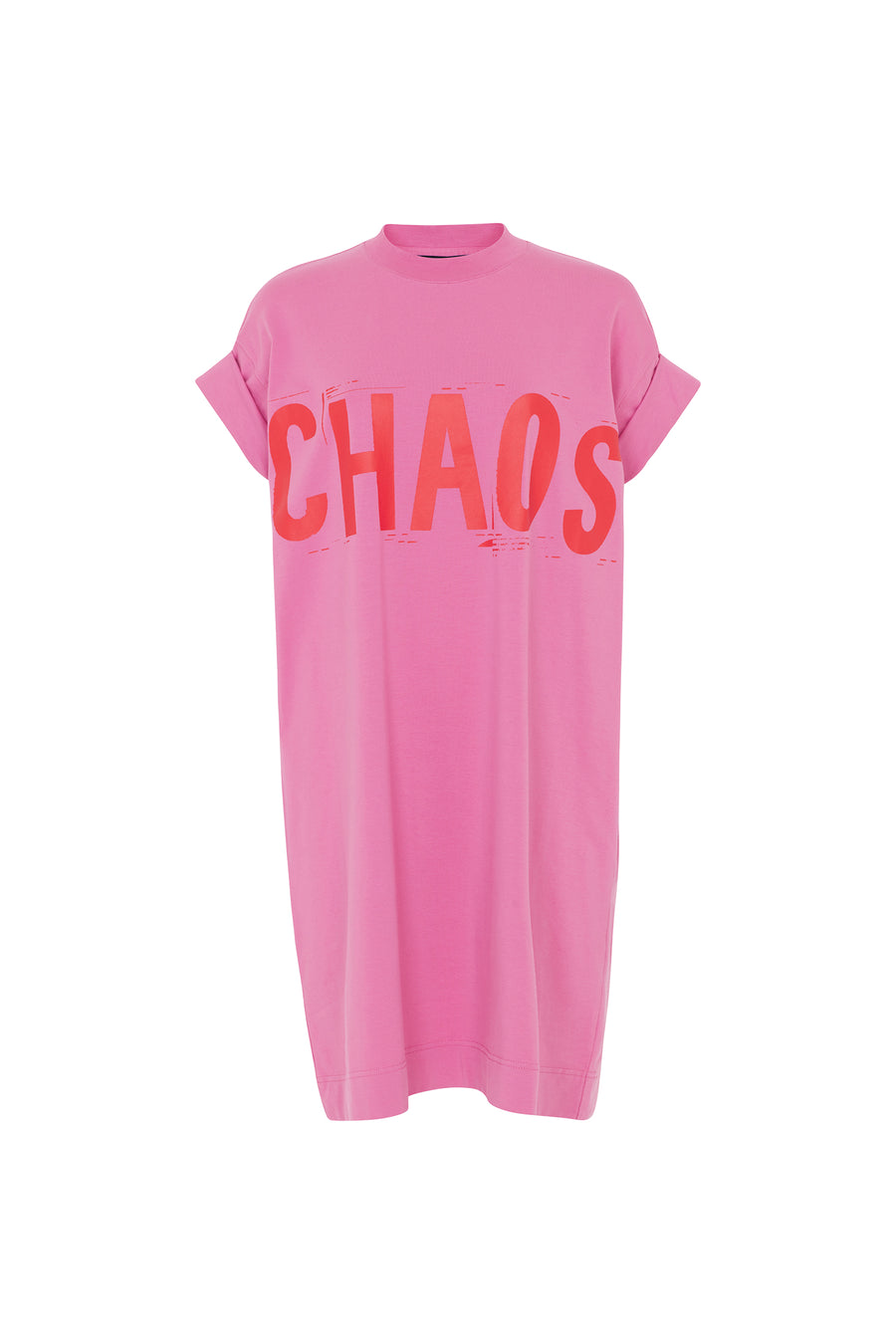'CHAOS' Oversized T-shirt Dress