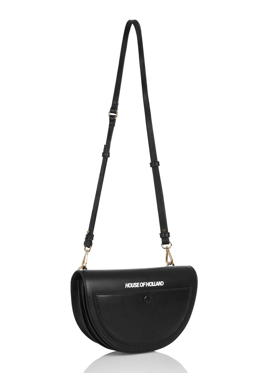 Half Moon XBody Bag (Black)