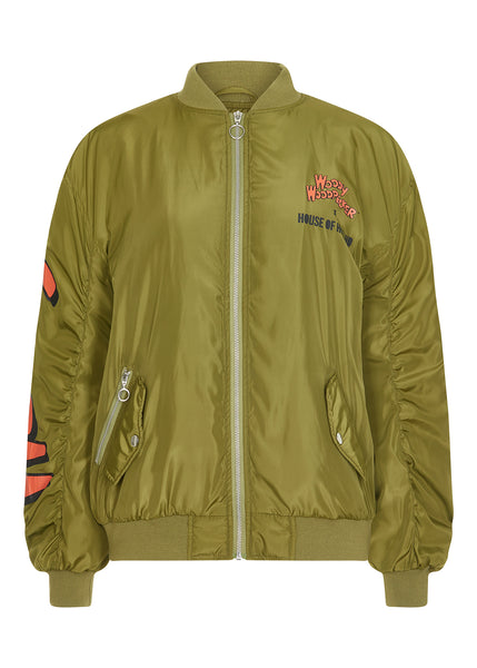 Knock On Wood Bomber Jacket