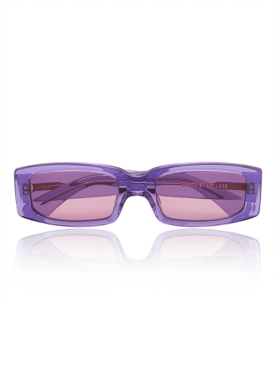 Lilac 'Club Kid' Sunglasses