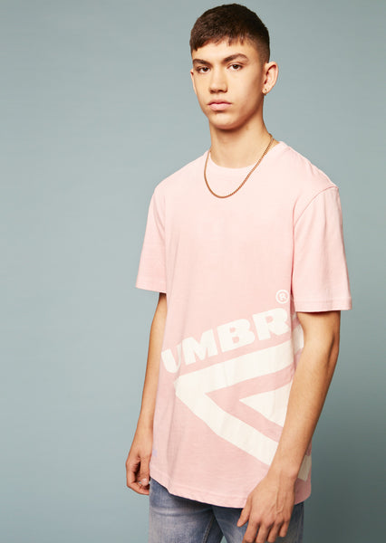 Umbro Half Diamond T-Shirt (Pink)