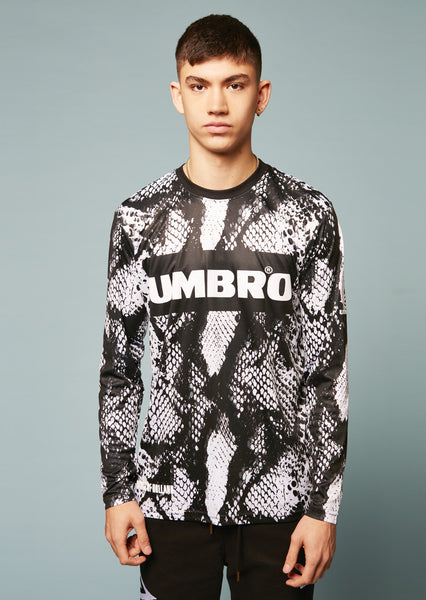 Umbro Snake Long Sleeved Football Top