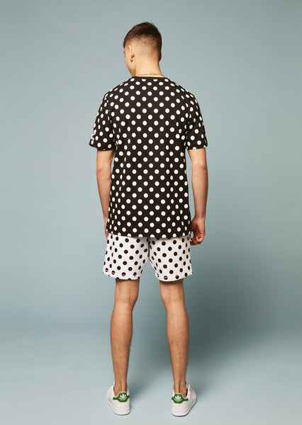 Umbro Polka Dot Flock Branding Shorts