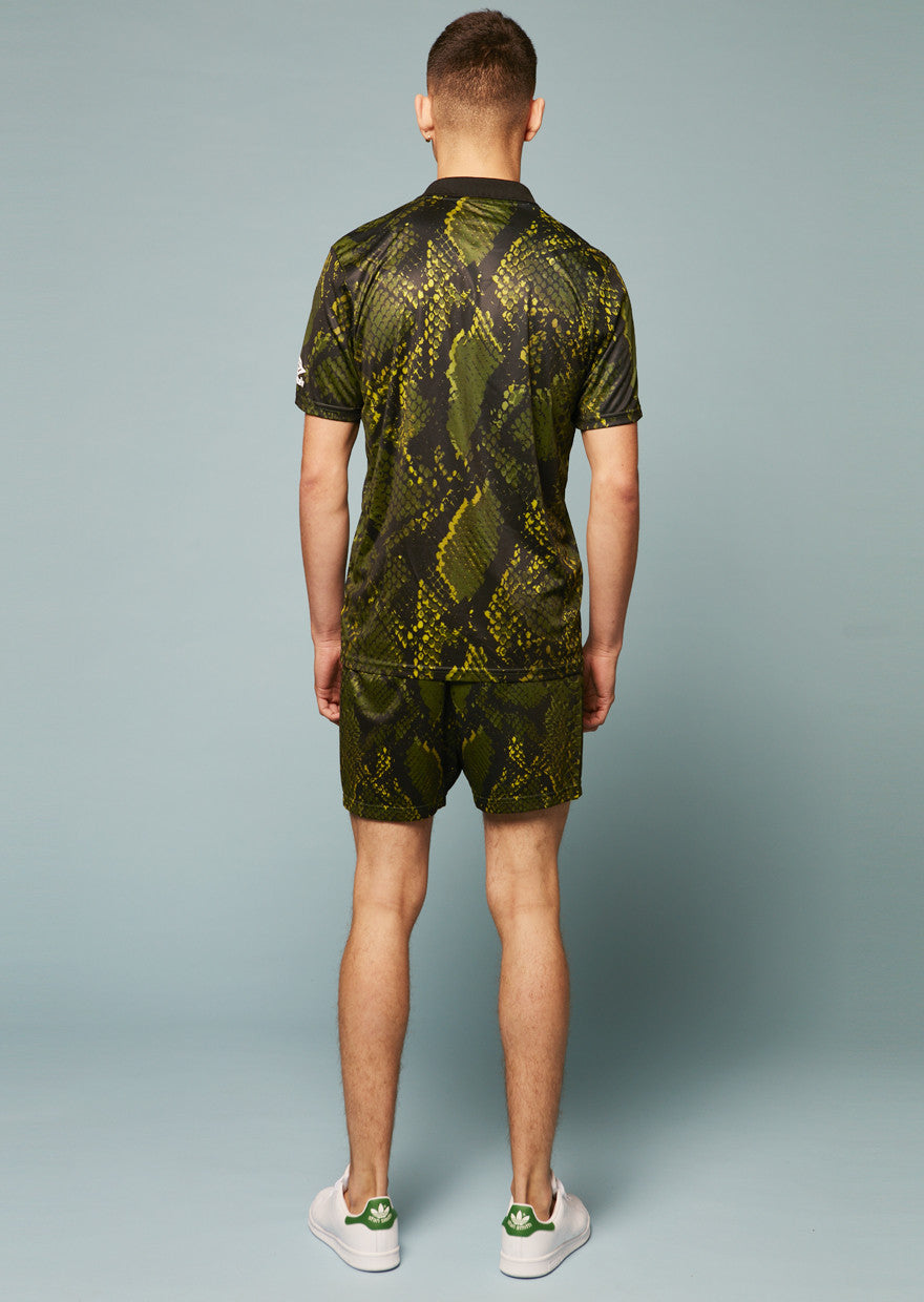 Umbro Snake Print Swim Shorts (Green)