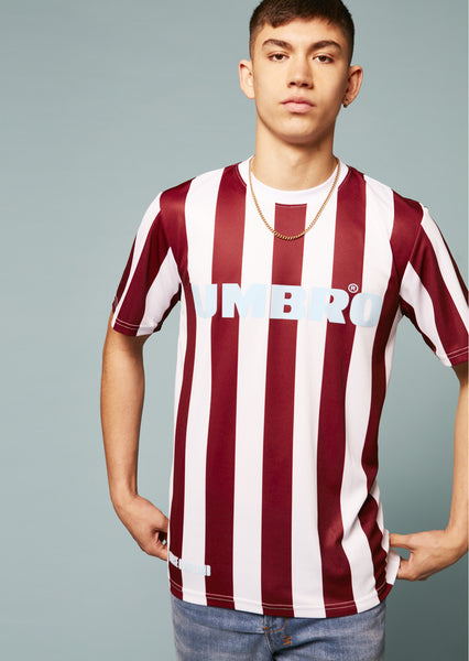 Umbro Jersey Striped T-Shirt