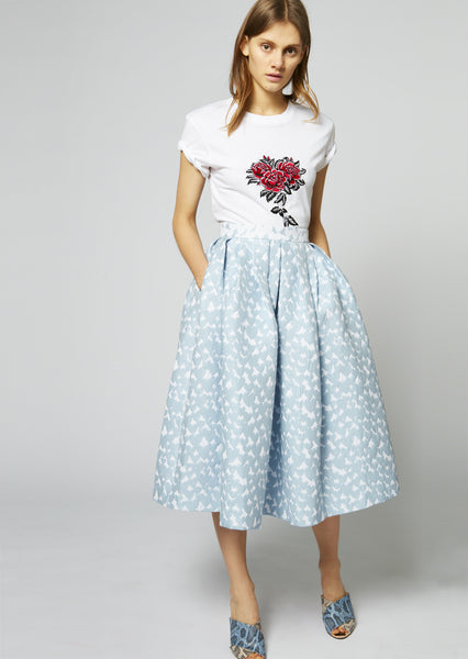 Heart Dirndl Skirt