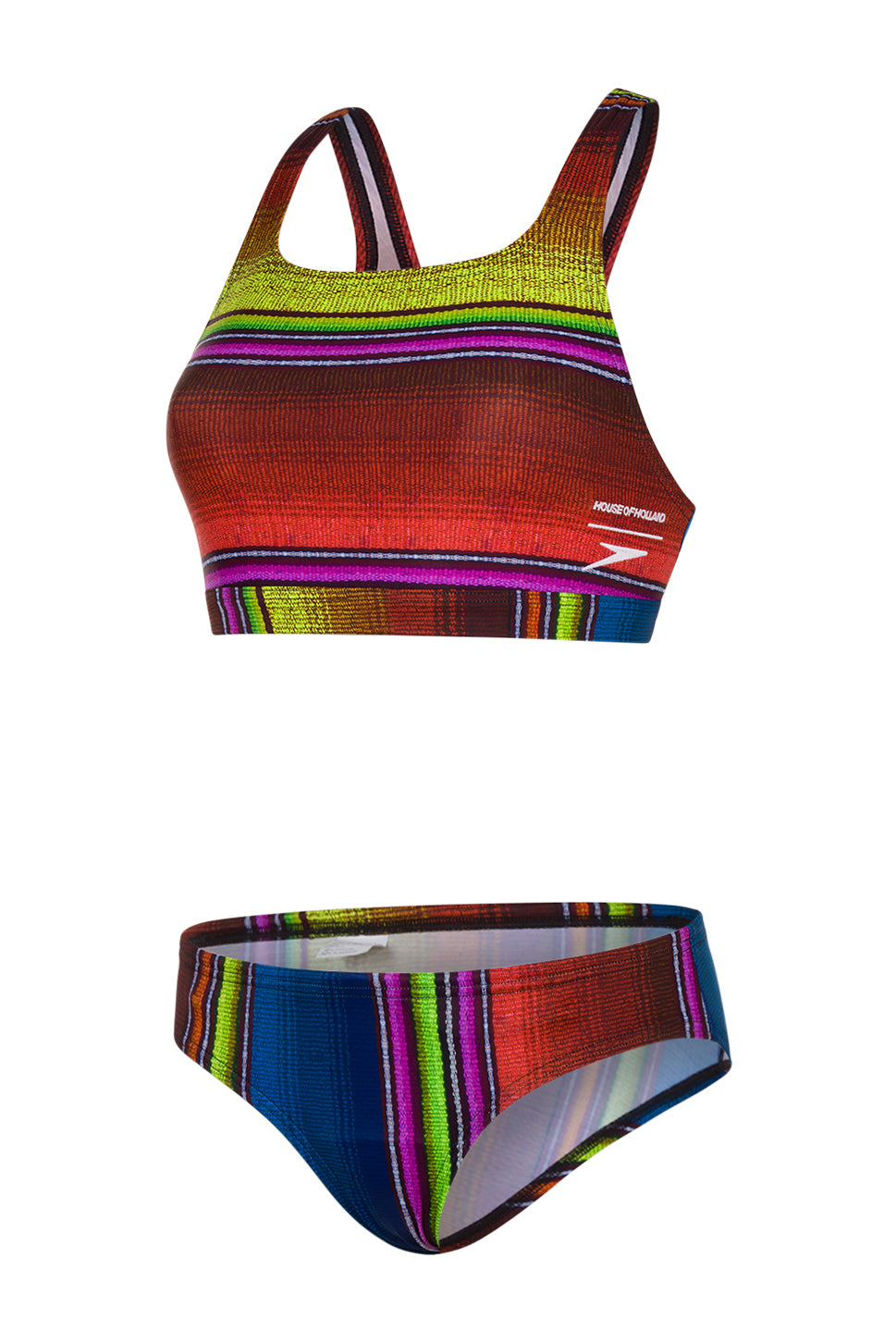 HoH x Speedo Sunset Stripe Swim Set