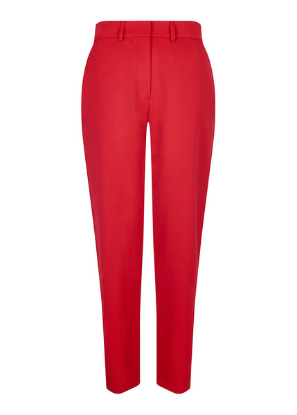 Rote Tailored Hose