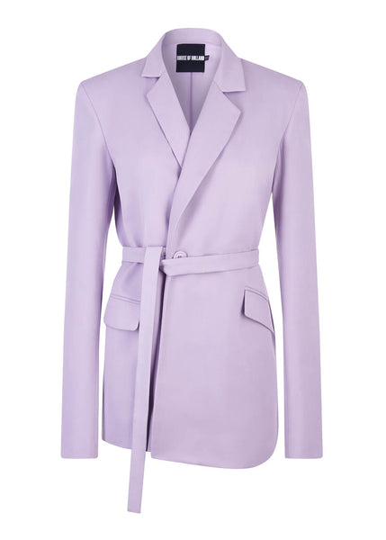 Lila Tailored Suit Jacke