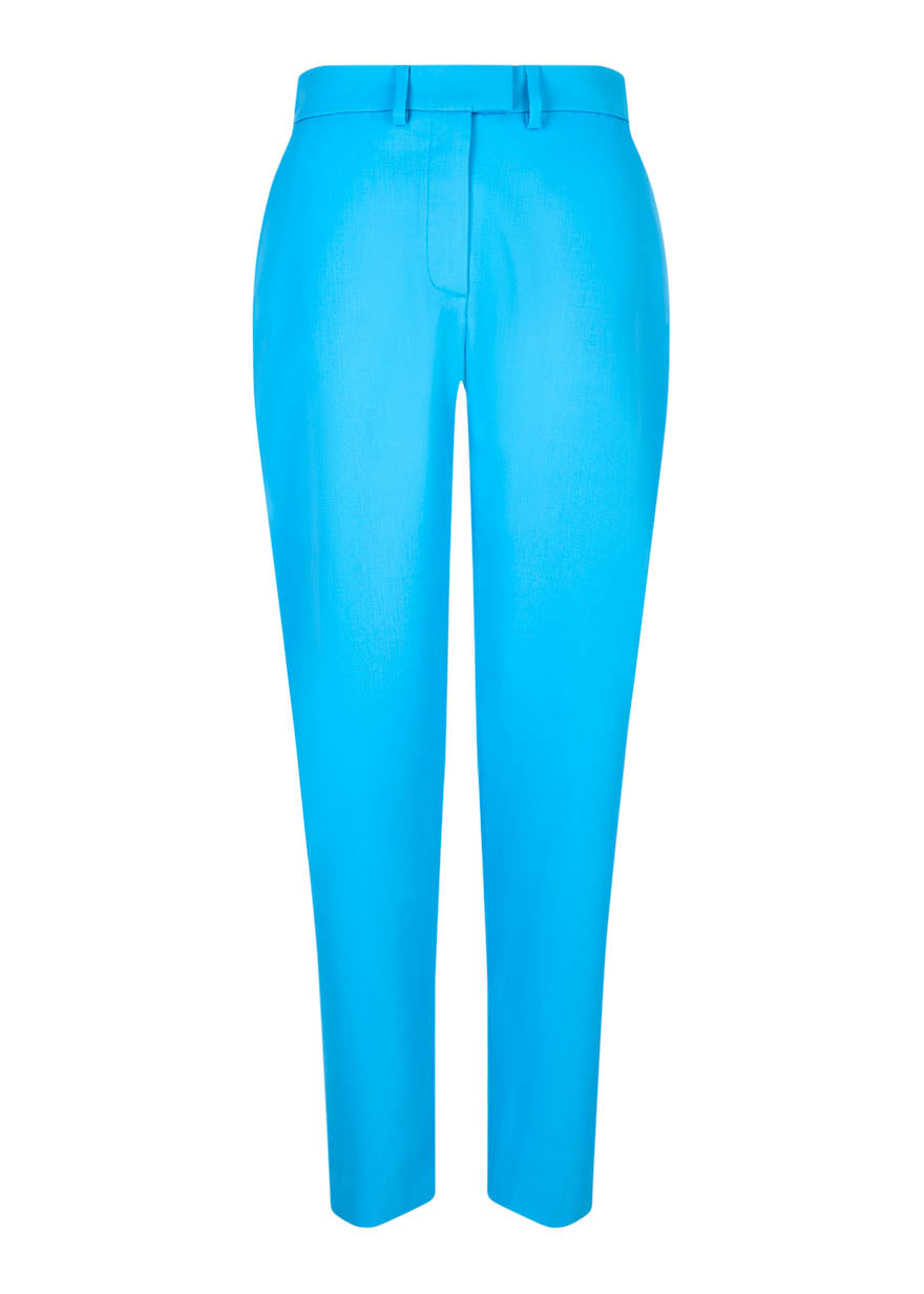 Pantalon Ajusté Turquoise par House of Holland