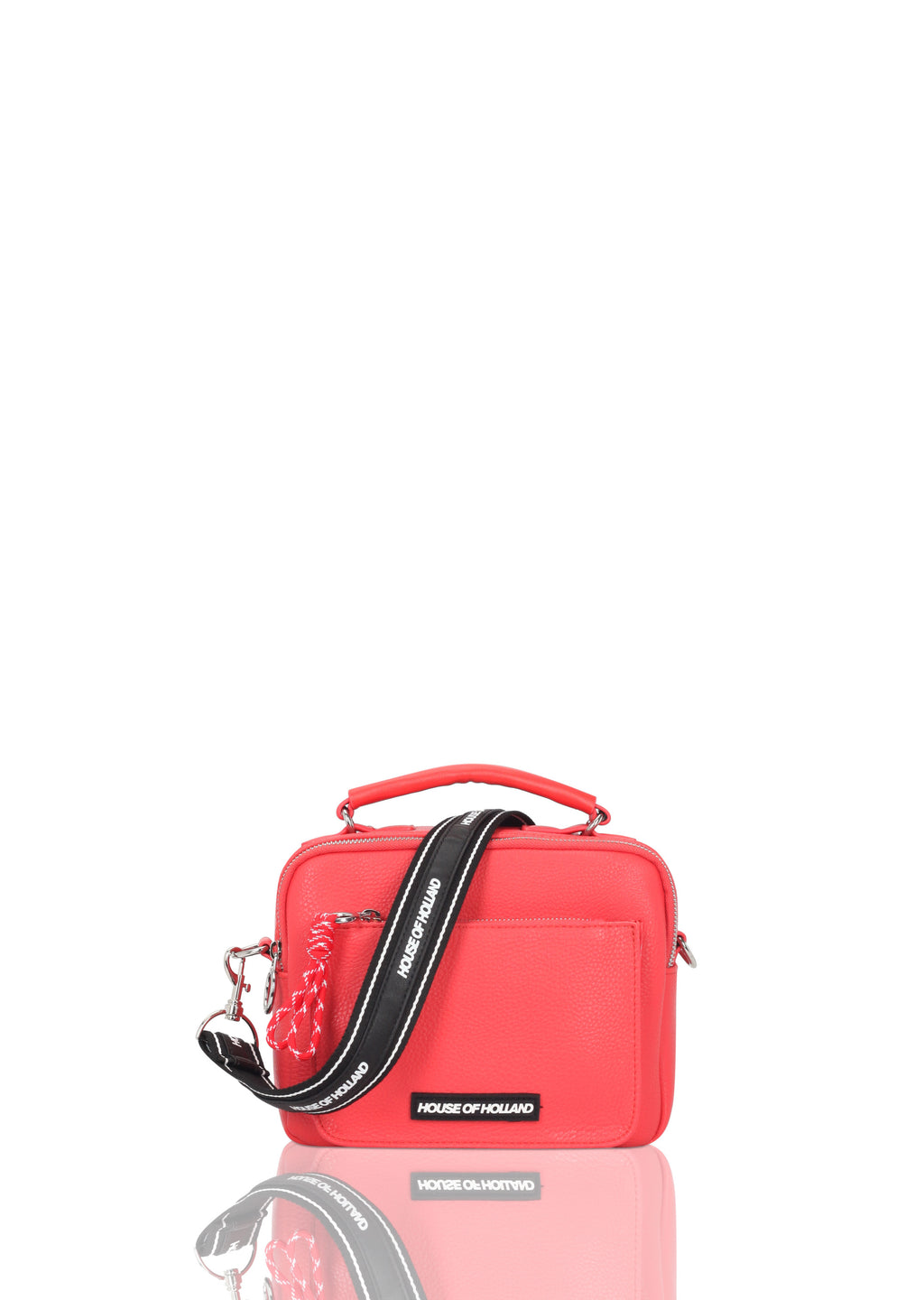 Double Pocket Cross Body Bag