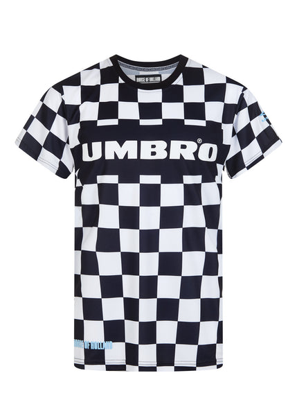 Black and White Football Shirt