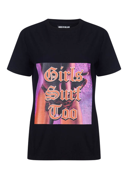 'GIRLS SURF TOO' REGULAR T-SHIRT