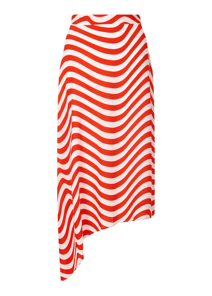 ASYMMETRIC WAVEY SKIRT