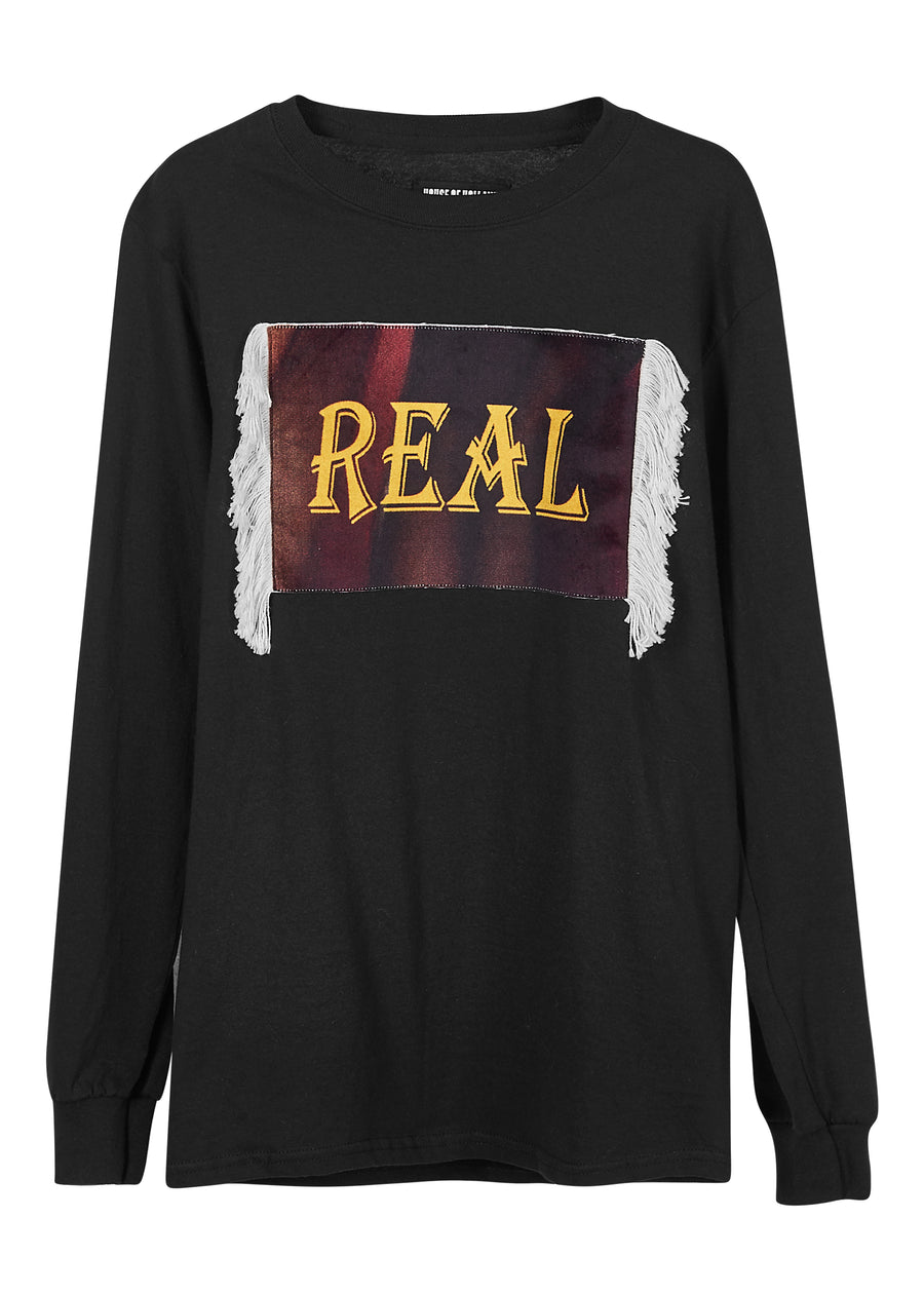 @sweeneytoddla 'Real' Long Sleeve Tee