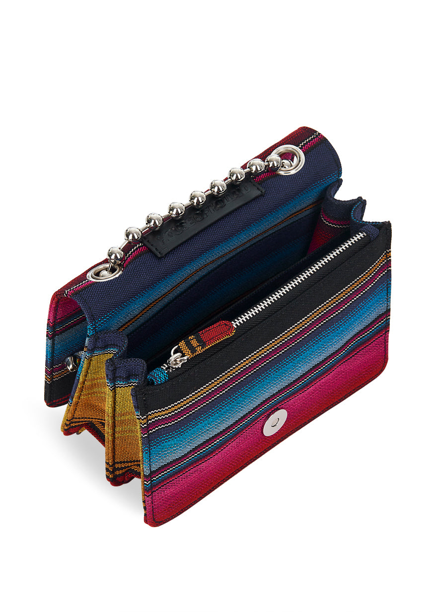 Mexican Stripe Crossbody Bag